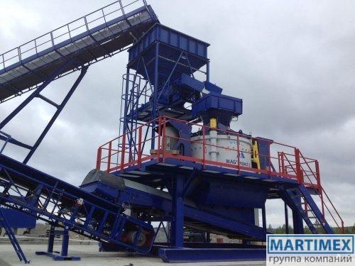 Ударно-вертикальная дробилка MAGImpact 2100